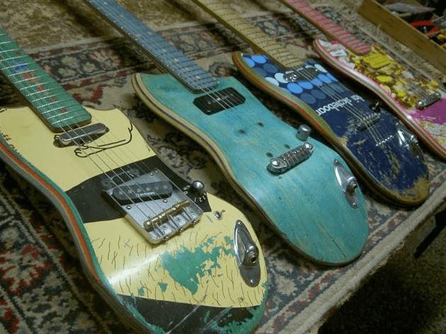 Kaputtes Oder Altes Skateboard Bau Ne Gitarre Draus Gearnews De
