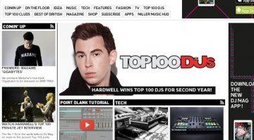 DJ Hardwell ist laut DJ Mag Top 100 der Beste DJ der Welt 2014.