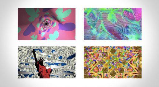 Farbenfrohes Clip-Futter für DJs und VJs von Serato und DJ Ego.