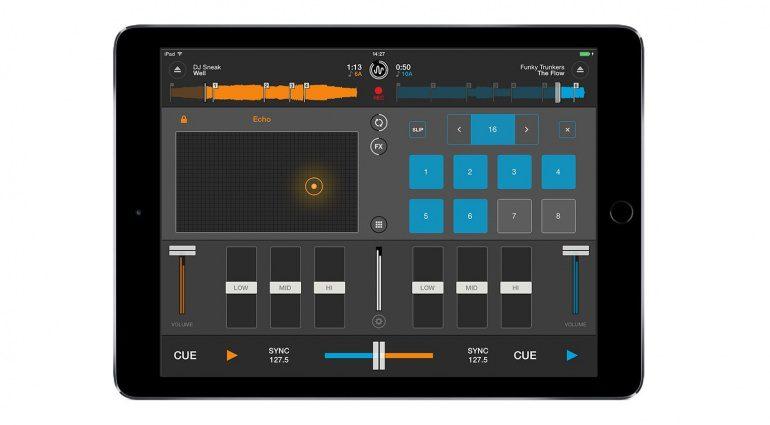 Mixvibes Cross DJ iOS 2.0 FX und Loops