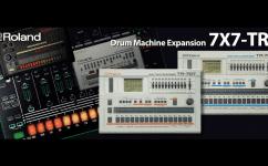 Das Update versorgt die TR8 mit den klassischen Sounds der 707 und 727 Geräte.