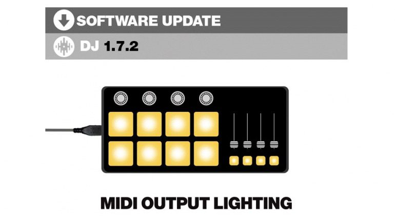 Serato DJ 1.7.2 Update bringt unter anderem MIDI Output Lighting
