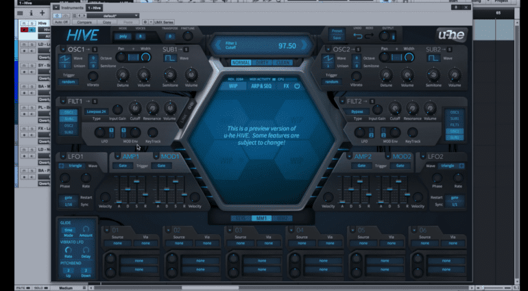 U he hat das synthesizer plugin hive enth llt - U he diva ...