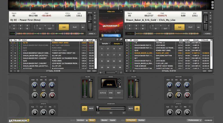 """""""Gib mir 5"""" – Ultramixer Digital Audio Solutions veröffentlicht Version 5 seiner beliebten DJ-Software."""