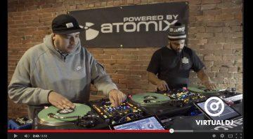Atomix Power Room DJ Abel und DJ Krisp Kutz