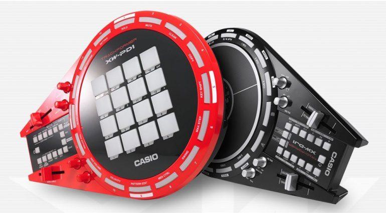 Casio Trackformer XW-DJ1 und XW-PD1