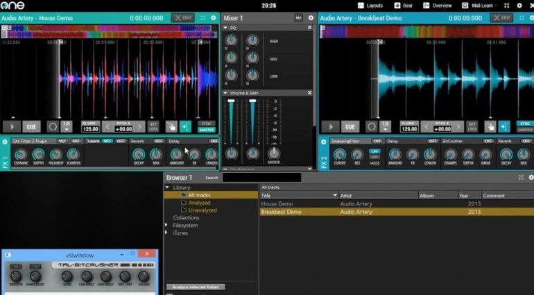 Audio Artery One DJ 1.7