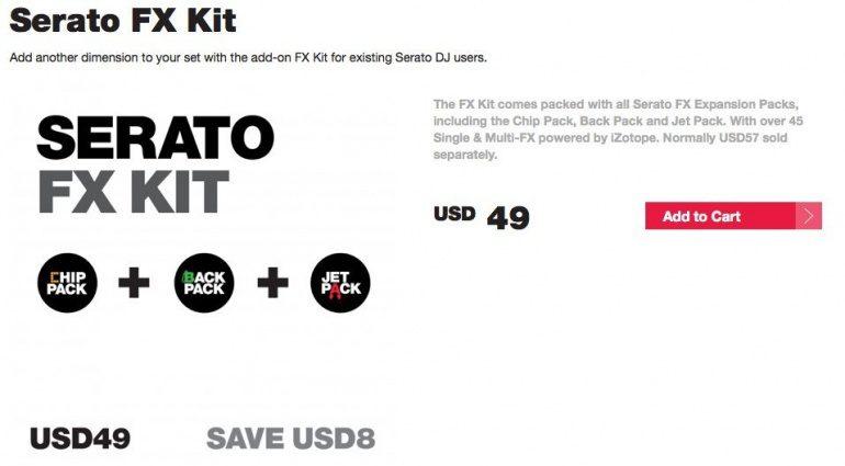 Serato FX Kit