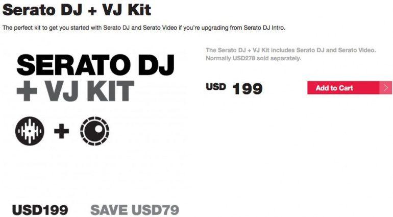 Serato Kit: SDJ + VJ