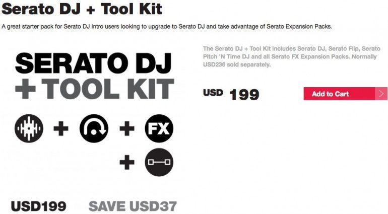 Serato Kit: SDJ + Tool Kit