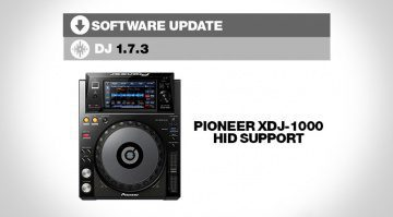 Serato DJ Software Update 1.7.3 mit Pioneer XDJ-1000 Support