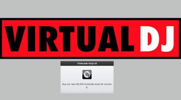 Virtual DJ Timecode Vinyl v8
