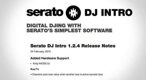 Update: Serato DJ Intro 1.2.4