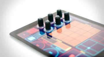 Tuna DJ Knobs für Tablets und Touchscreen