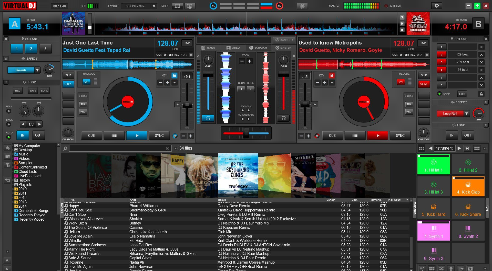 comment utiliser virtual dj home free