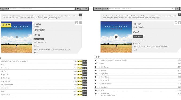 Technics Tracks Online Music Store eröffnet