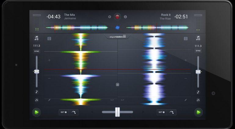 Algoriddim Djay 2 für Android Waveform View