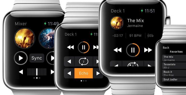 Algoriddim Djay für Apple Watch