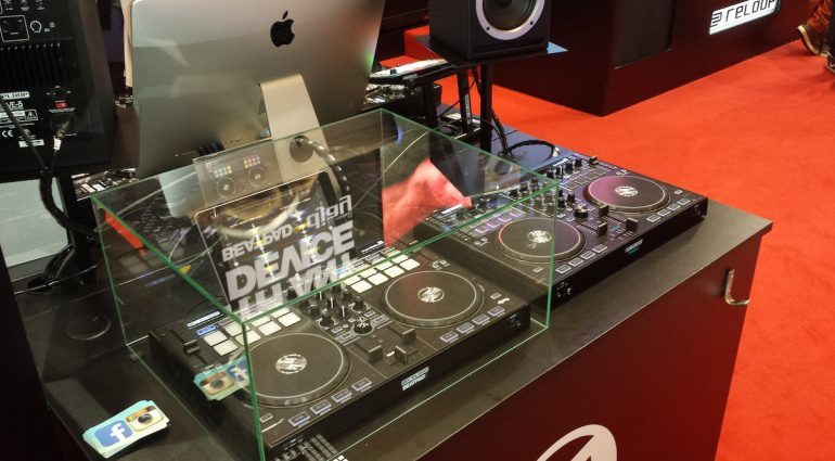 Reloop Beatpad 2 Musikmesse 2015