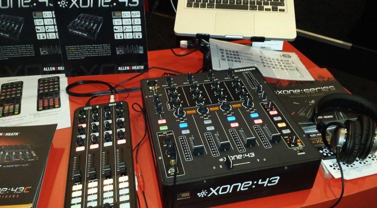Allen&Heath Xone:43 Musikmesse 2015