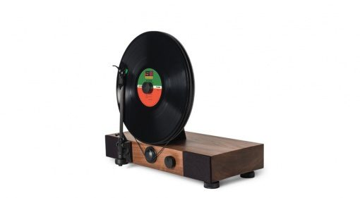 Gramovox Floating Record Vertical Turtable