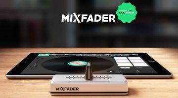 Eding Mixfader bei Kickstarter
