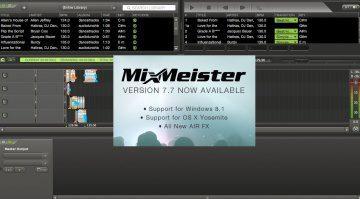Mixmeister 7.7 Update steht zum Download bereit