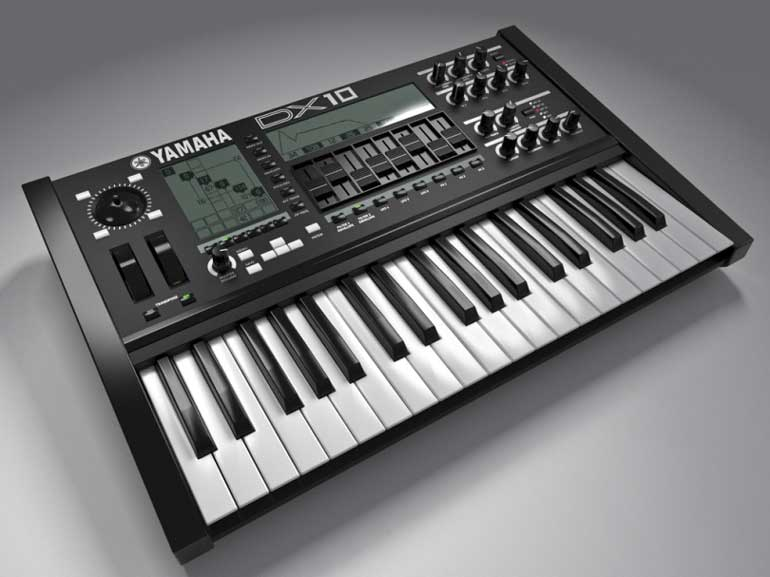 Fiktionaler DX10 FM Synth