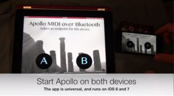 Apollo MIDI over Bluetooth LE iOS OSX Secret Base Design