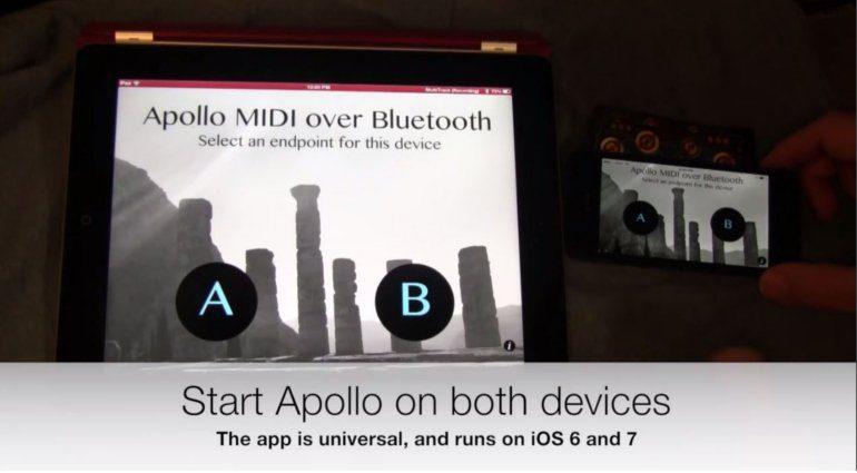 Apollo MIDI over Bluetooth LE iOS OSX Secret Base Design