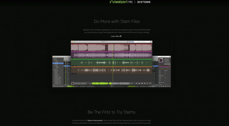 Beatport Pro: Native Instruments Stems