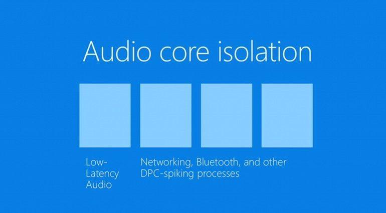 Windows 10 Audio Core Isolation