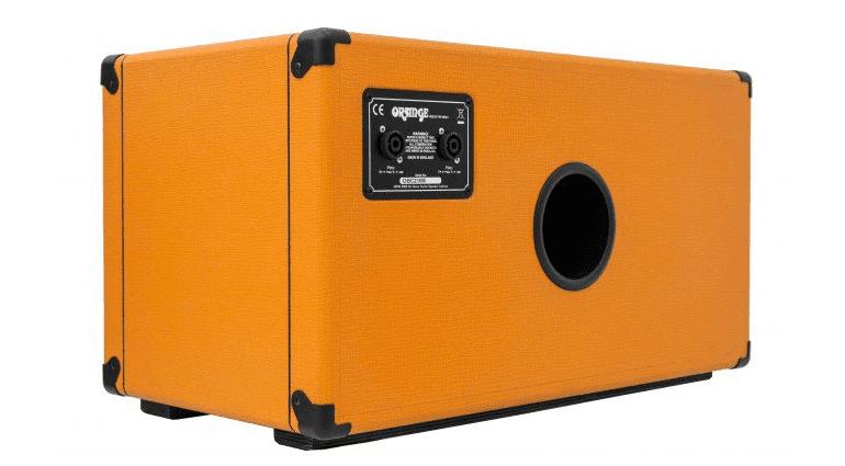 Orange OBC210 Mini Bass Box Back Slant Speakon