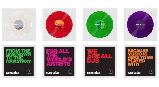 Serato Control Vinyl Glass Series