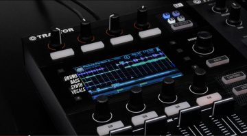 Native Instruments Traktor Kontrol D2 und Stems