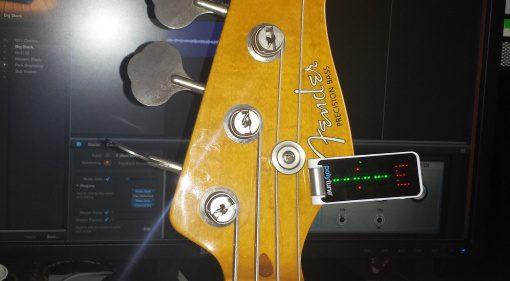 TC Electronic Polytune Clip Tuner Stimmgerät Headstock Clip-on