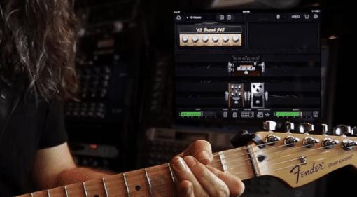 Gitarre Bias FX Amp Modelling Simulation Positive Grid iPad