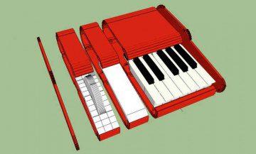 Modular Keyboard ausdrucken