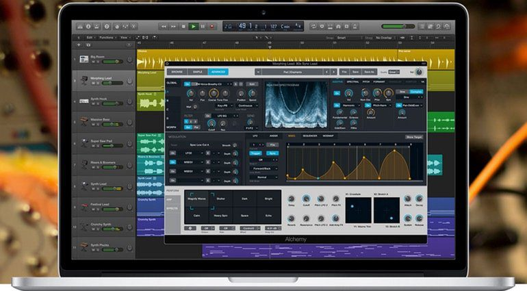 Apple Logic Pro X 10.2 Update Alchemy Synthesizer Mac Book Pro