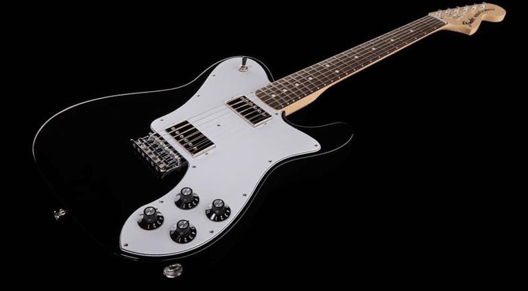 Fender Telecaster Tele Signature Chris Shiflett Deluxe Black