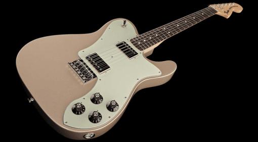 Fender Telecaster Tele Signature Chris Shiflett Deluxe Shoreline Gold