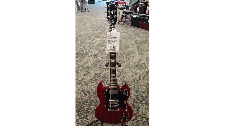 Gibson USA 2016 SG Standard Preisschild
