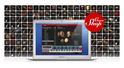 Aufmacher zum neu vorgestellten SampleTank Custom Shop Software-Sampler