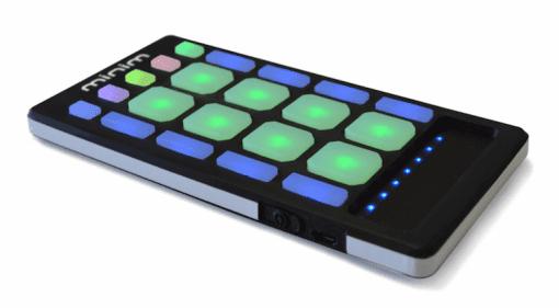 Produktfoto des mobilen Pad Cotrollers Minim von Livid Instruments
