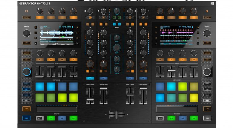 Native Instruments Stems und Traktor Kontrol S8