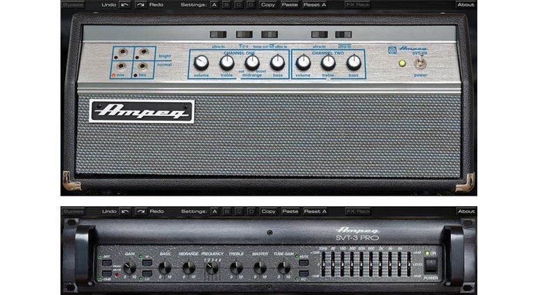 Universal Audio Brainworx Ampeg SVT-VR SVT-3 Pro Bass Amp Emulation DSP Apollo USD-2