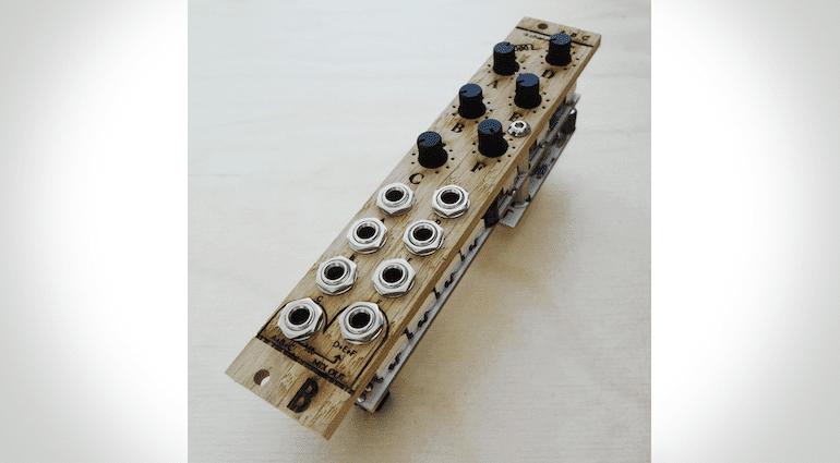 Foto des fertigen ABC-Eurorack-Moduls von Bastl Instruments