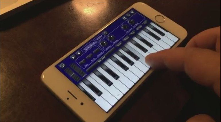 Bismark BS-16i Synthesizer App 3D Touch iPhone 6s Atfertouch