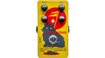 Catalinbread Katzenkönig Distortion Fuzz Pedal Front