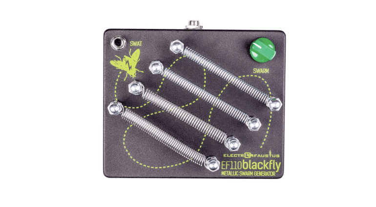 Electro Faustus Blackfly EF110 Spring Feder Pedal